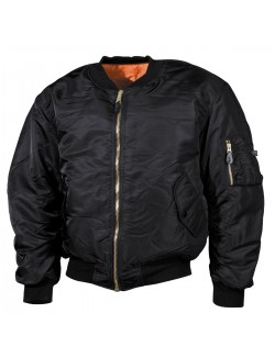 Bomber MA1 color negro