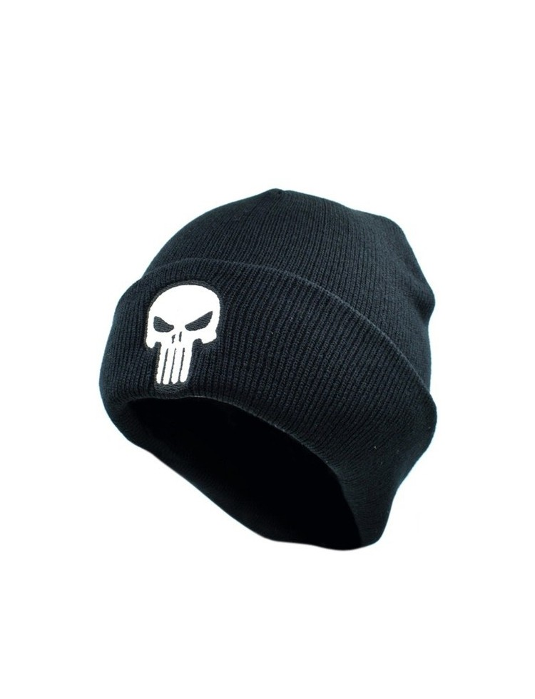 Gorro The Punisher color negro