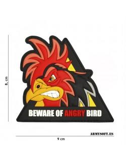 Parche 3D PVC Angry Bird