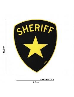 Parche 3D PVC Sheriff