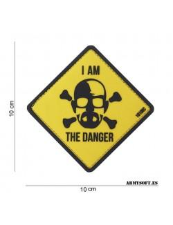 Parche 3D PVC I am the Danger