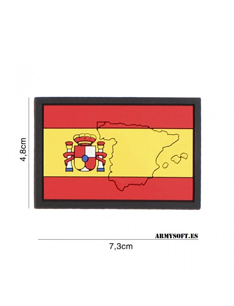 Parche 3D PVC España mapa