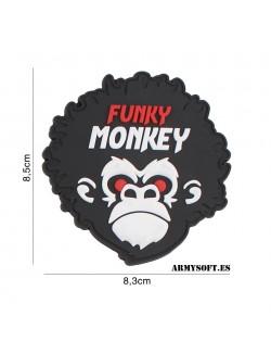 Parche 3D PVC Funky Monkey