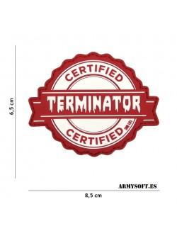 Parche 3D PVC Terminator