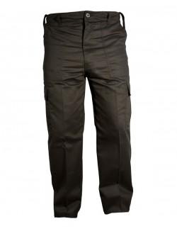Pantalon de combate color negro con 6 bolsillos