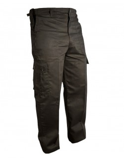 Pantalón militar de combate color negro