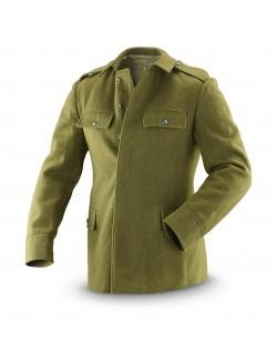 Chaqueta militar, verde, ejército rumano