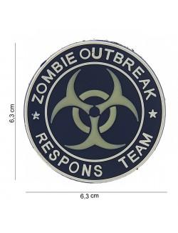 Parche 3D PVC Zombie Response Team