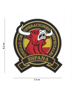 Parche 3D PVC Toro España, Operaciones Especiales