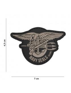 Parche 3D PVC Navy Seal´s