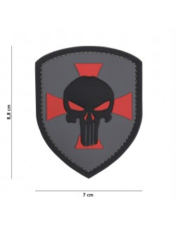 Parche 3D PVC Punisher