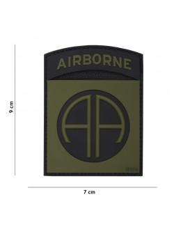 Parche 3D PVC Airborne 82nd