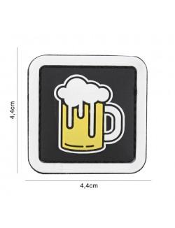 Parche 3D PVC Cerveza