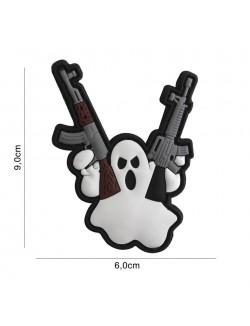 Parche 3D PVC Terror Ghost