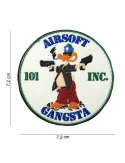 Parche 3D PVC Airsoft Gangsta