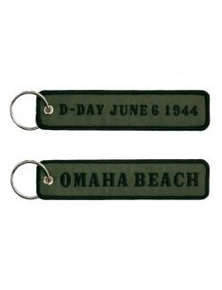 Llavero día D, Omaha beach