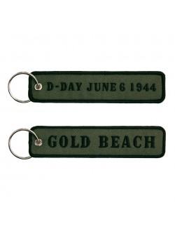 Llavero día D, Gold beach
