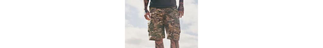 Bermudas y Shorts Militares